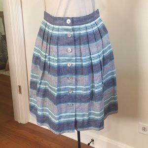 Brooks Brothers Linen Skirt
